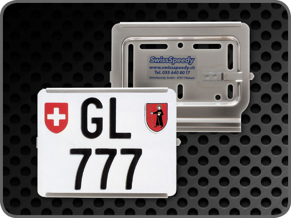 Support de plaque Swissspeedy